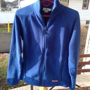 Womans Vineyard Vines fleece jacket.